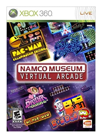 Namco Museum Virtual Arcade facts and statistics