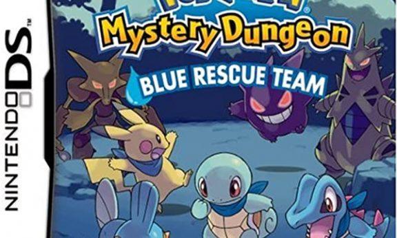Pokémon Mystery Dungeon Blue Rescue Team facts statistics