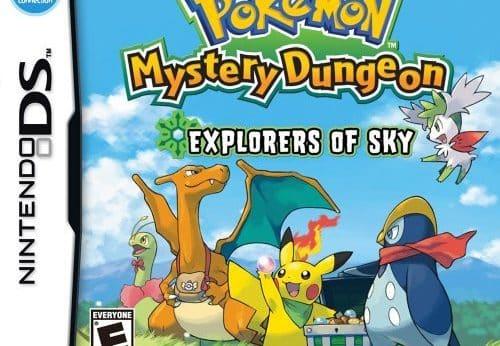 Pokémon Mystery Dungeon Explorers of Sky facts statistics