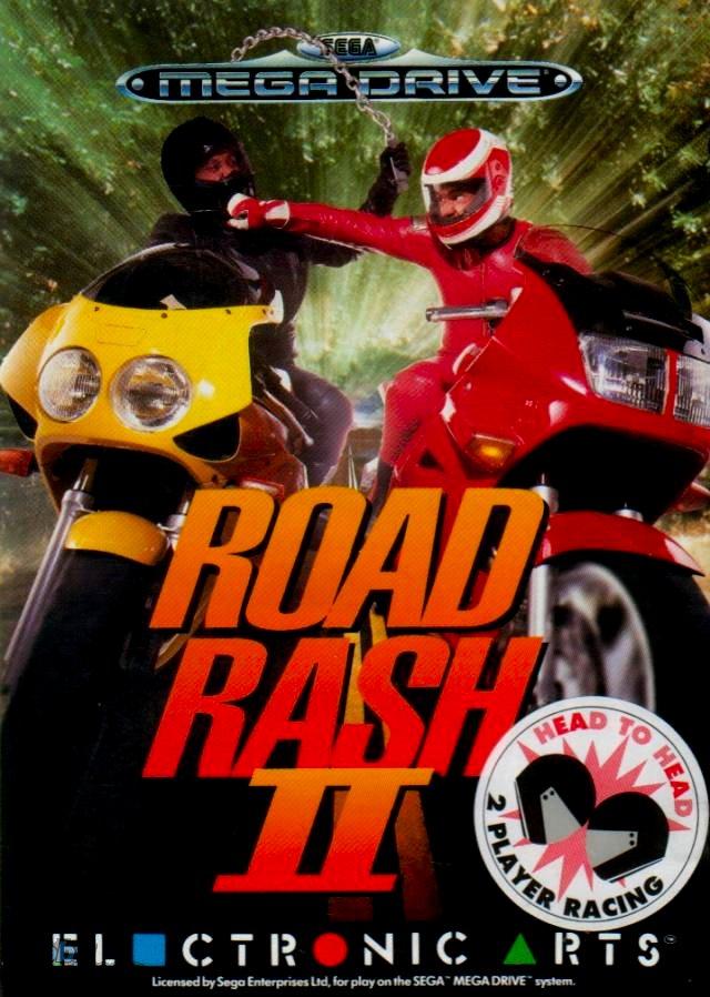 Road Rash II facts statistics