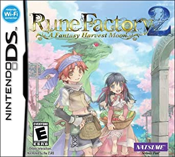 Rune Factory 2 A Fantasy Harvest Moon facts statistics