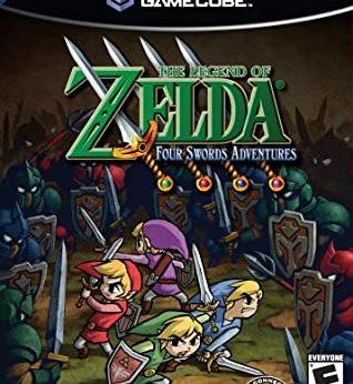 The Legend of Zelda Four Swords Adventures facts statistics