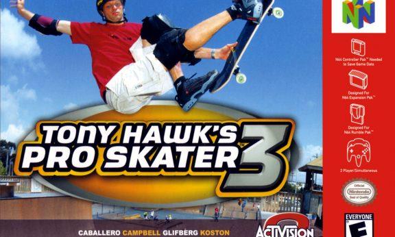 Tony Hawk's Pro Skater 3 facts statistics