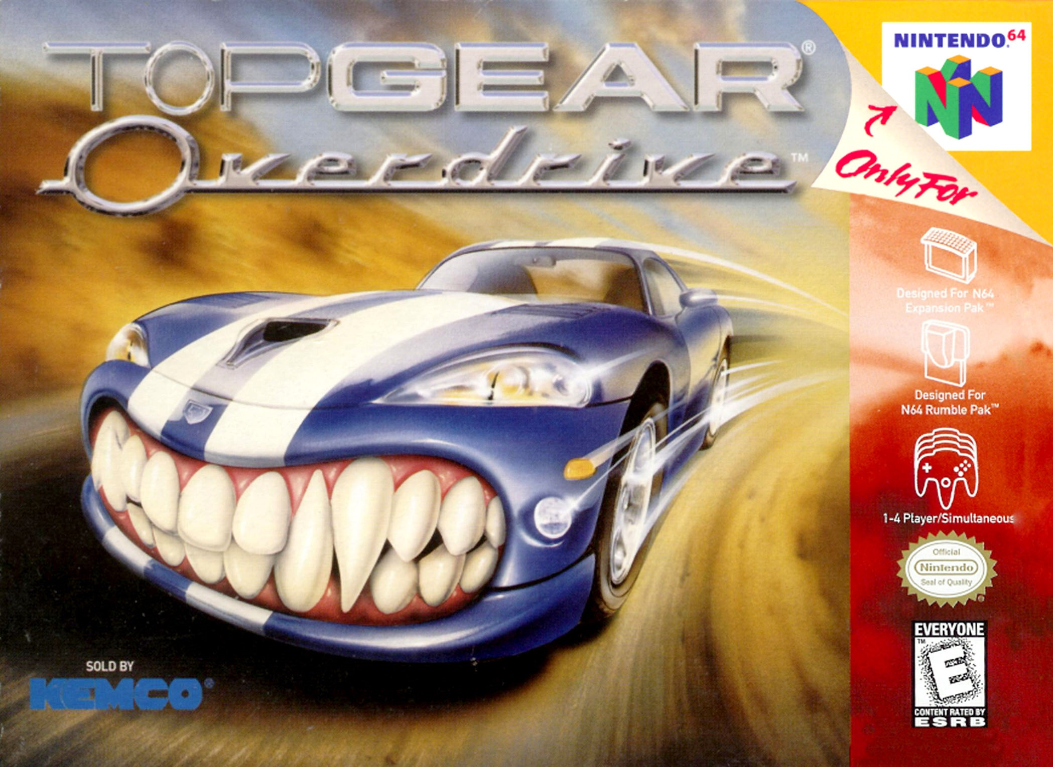 Top Gear Overdrive facts statistics