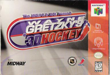 Wayne Gretzky's 3D Hockey facts statistics