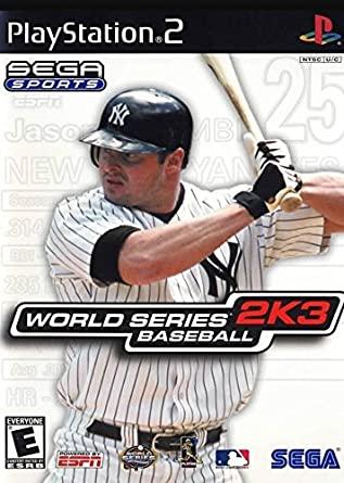 World Series Baseball 2K3 facts statistics