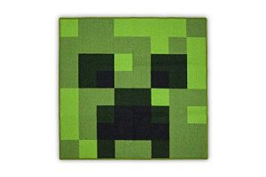 Minecraft Creeper Area Rug