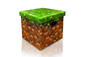 Minecraft Grass Block Storage Cube Organizer