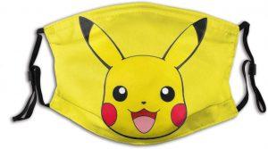Pikachu Face Mask