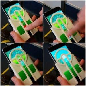 Pokemon Go Assist Silicone Phone Case