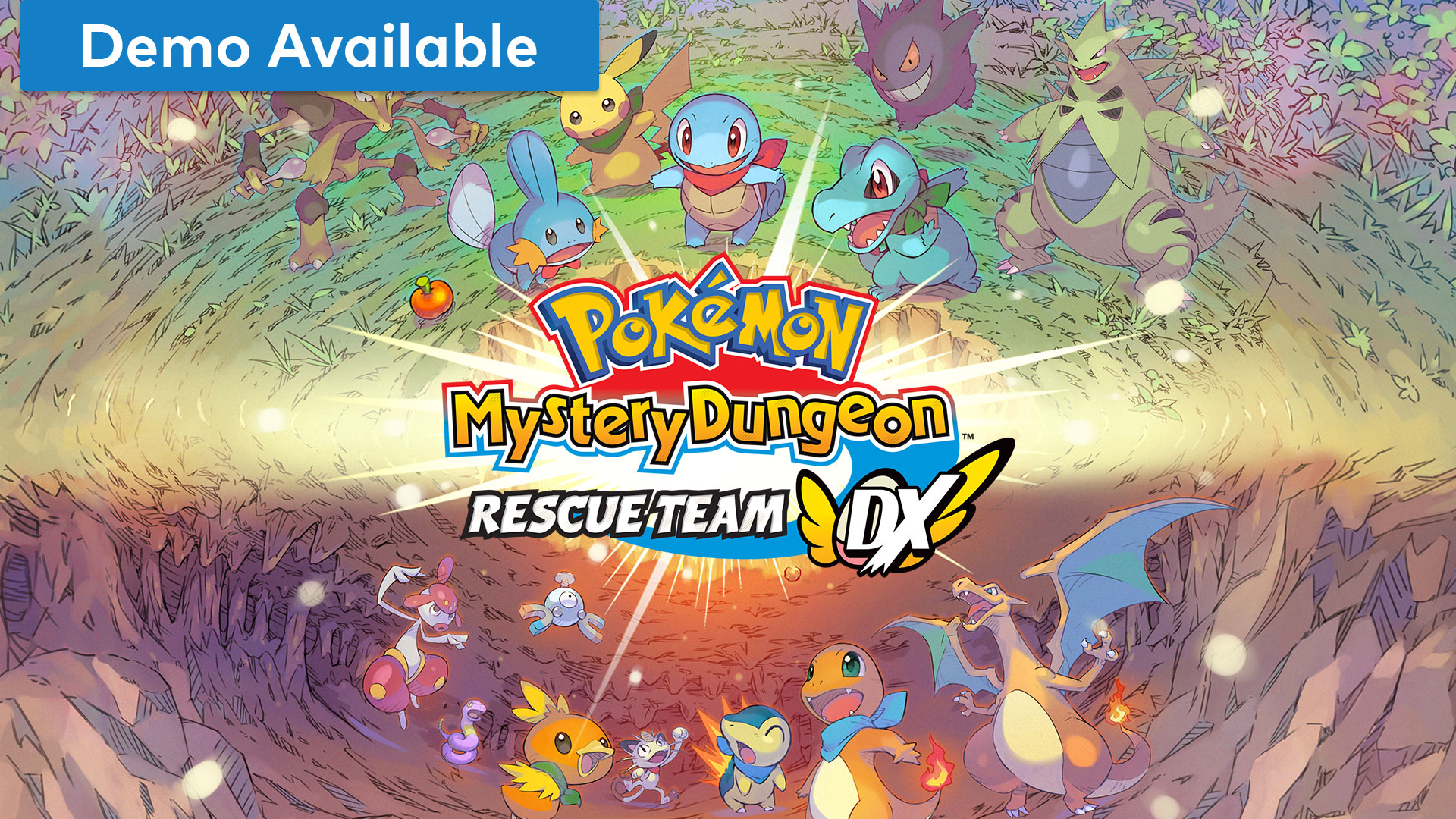 Pokemon Mystery Dungeon Rescue Team DX statistics and facts
