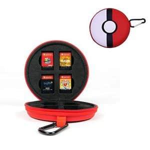 Pokemon Poke Ball Nintendo Switch Cartridge Case