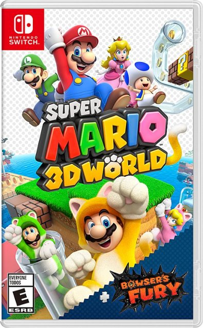 Super Mario 3D World + Bowser's Fury stats and facts