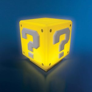 Super Mario Bros Question Block Lamp