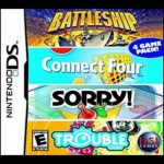 Battleship/Connect Four/Sorry!/Trouble