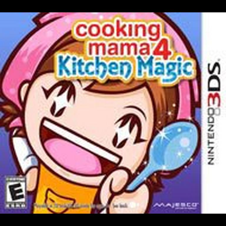 Cooking Mama 4 Kitchen Magic statistics facts