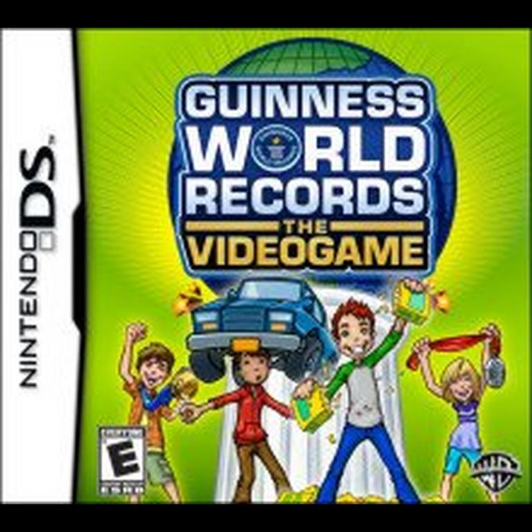 Guinness World Records The Video Game statistics facts