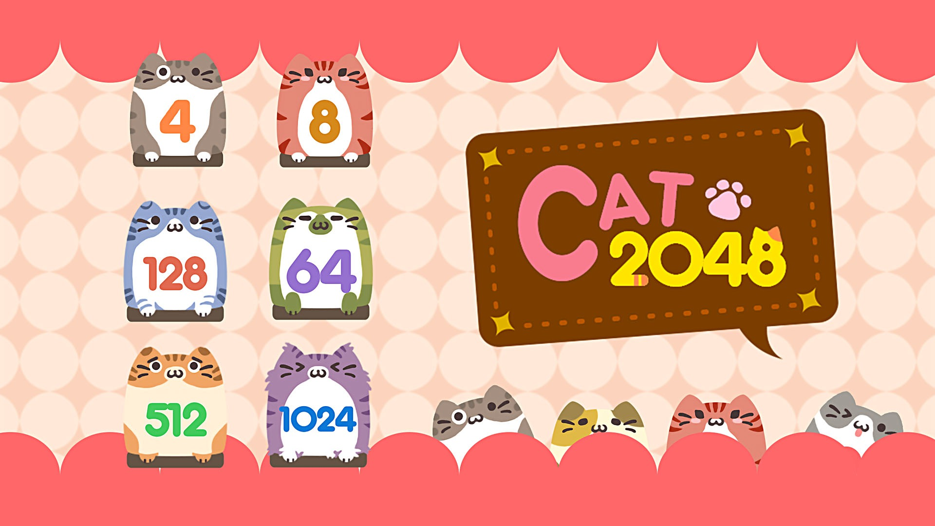 2048 Cat stats facts