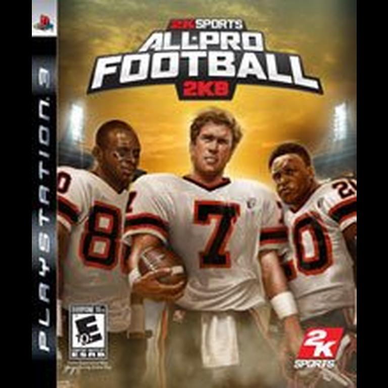 All-Pro Football 2K8 stats facts