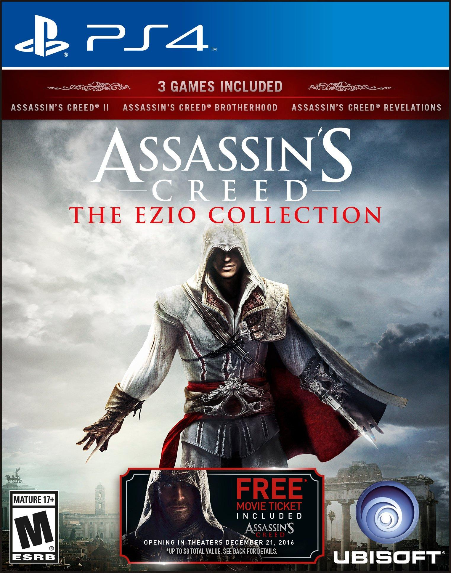 Assassin's Creed The Ezio Collection stats facts