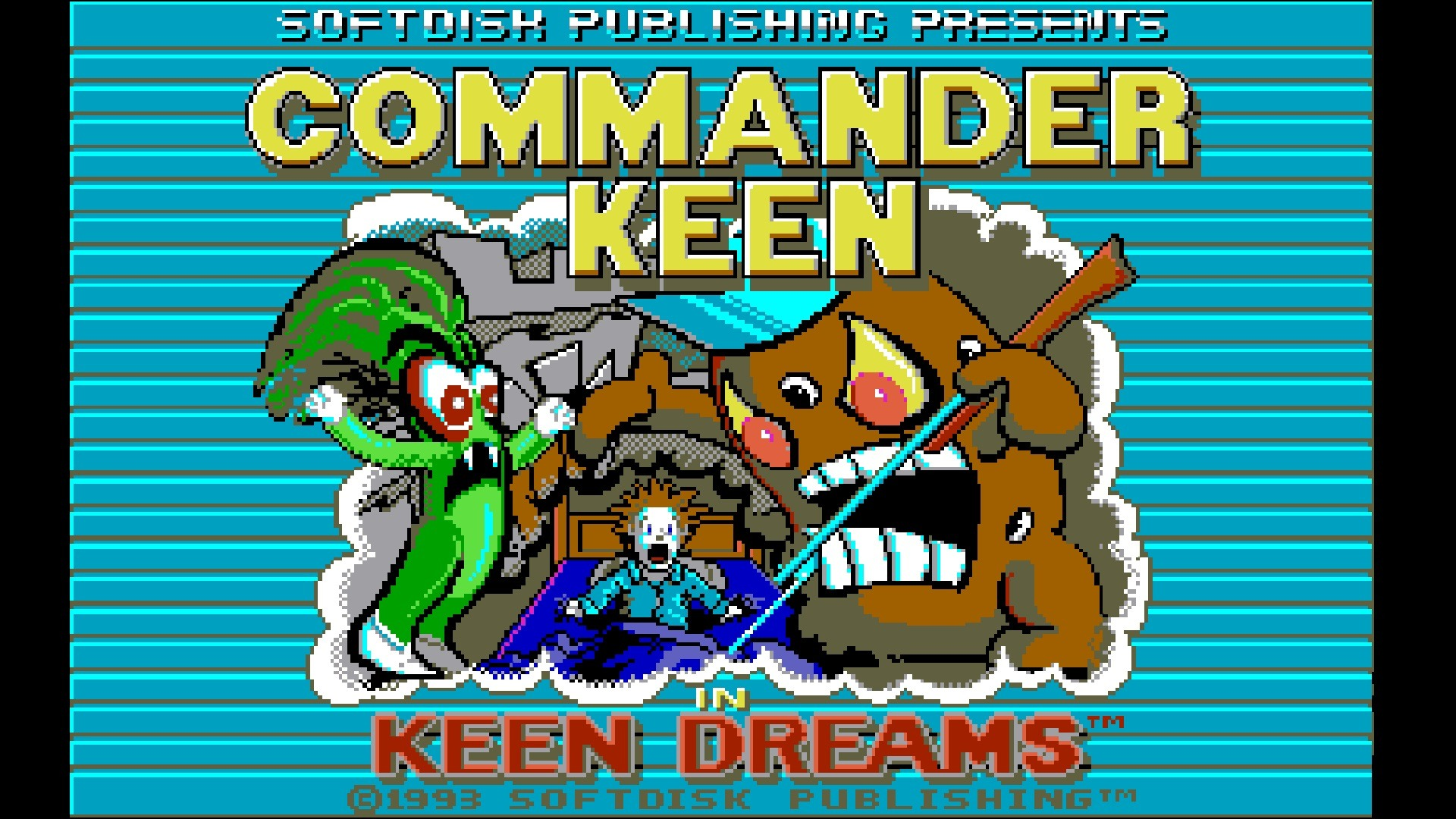 Commander Keen in Keen Dreams stats facts