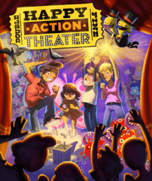 Double Fine Happy Action Theater stats facts