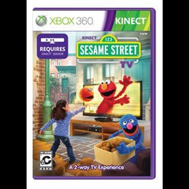 Kinect Sesame Street TV stats facts