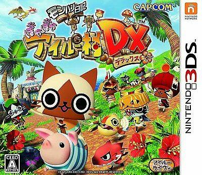 Monster Hunter Diary Poka Poka Airou Village DX stats facts