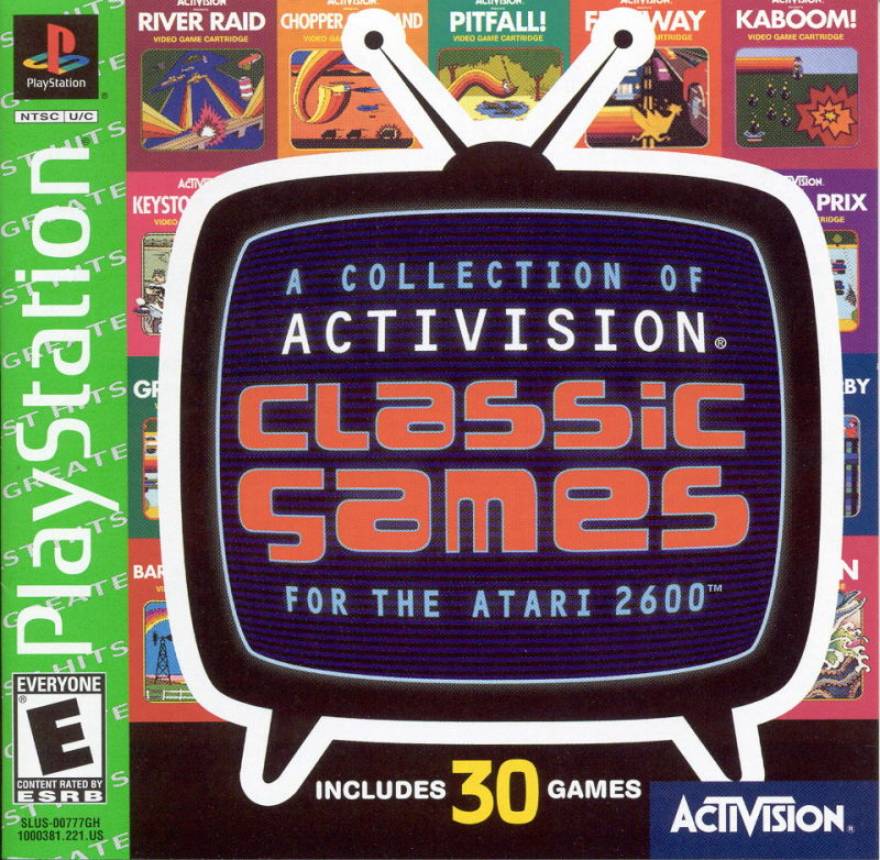 Activision Classic Games for the Atari 2600 stats facts