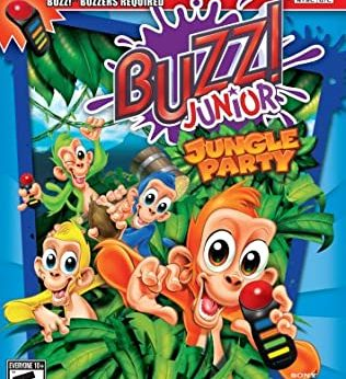Buzz! Junior Jungle Party stats facts