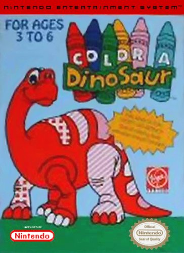 Color a Dinosaur stats facts