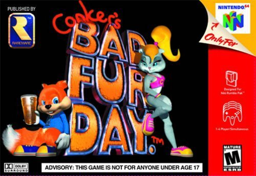 Conker's Bad Fur Day stats facts