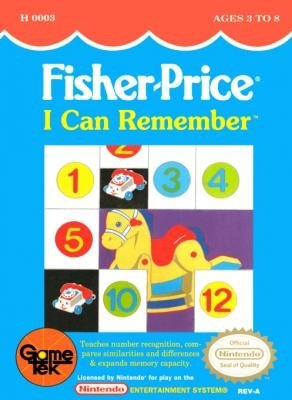 Fisher-Price I Can Remember stats facts
