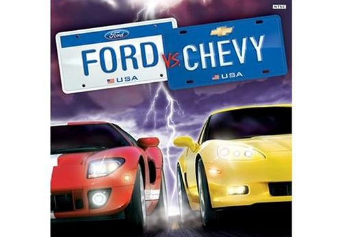 Ford vs. Chevy stats facts_