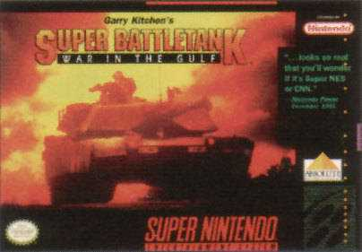 Garry Kitchen's Super Battletank War in the Gulf stats facts