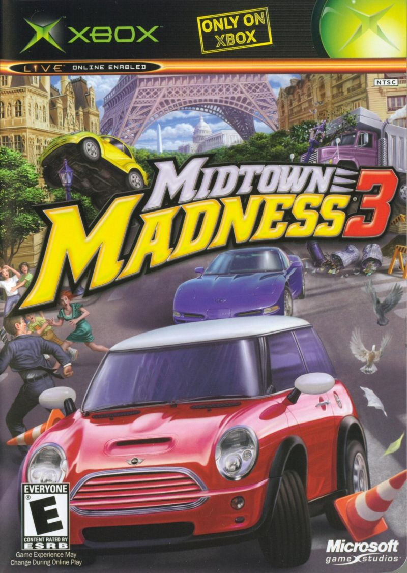Midtown Madness 3 stats facts_
