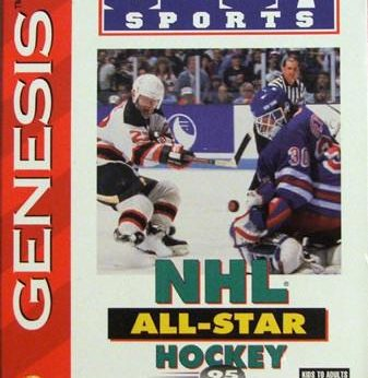NHL All-Star Hockey '95 stats facts