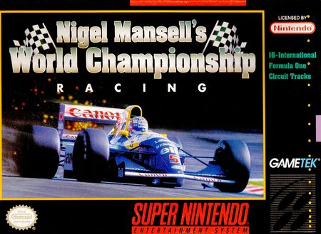 Nigel Mansell's World Championship Racing stats facts
