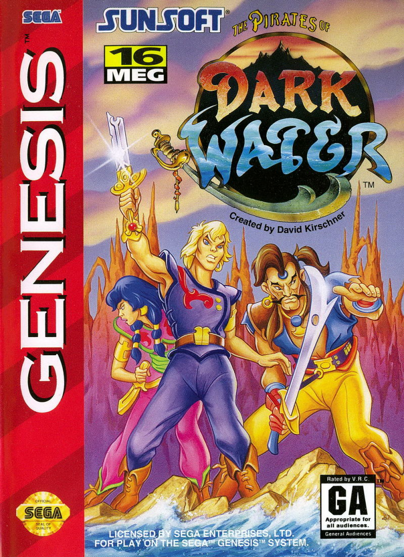 Pirates of Dark Water stats facts