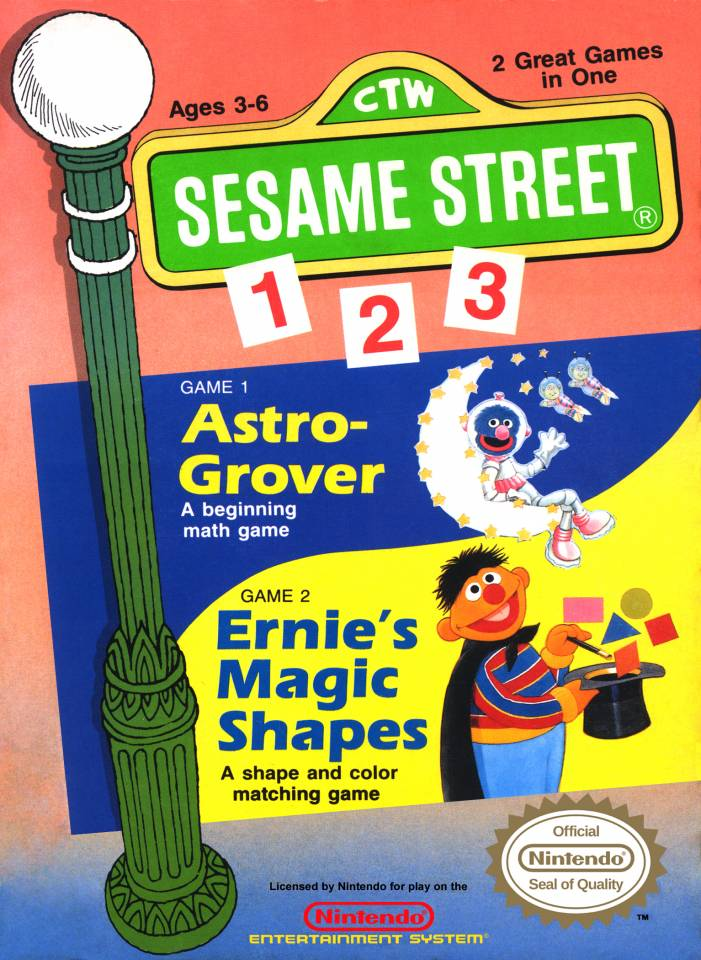 Sesame Street 1-2-3 stats facts