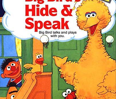 Sesame Street Big Bird's Hide Speak stats facts