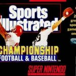 Sports Illustrated: Championship Football & Baseball