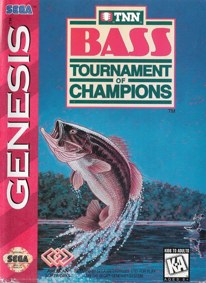 TNN Bass Tournament of Champions stats facts
