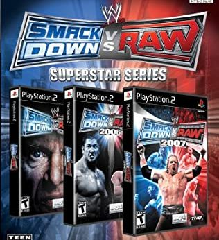 WWE SmackDown vs. Raw Superstar Series stats facts