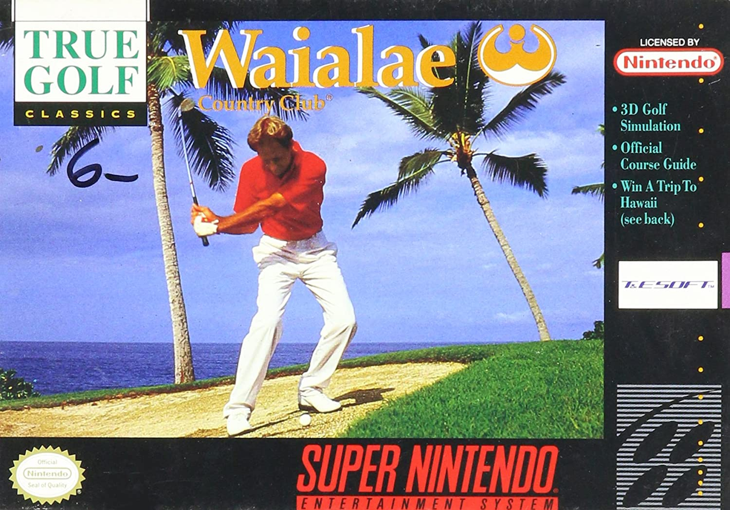 Waialae Country Club True Golf Classics stats facts
