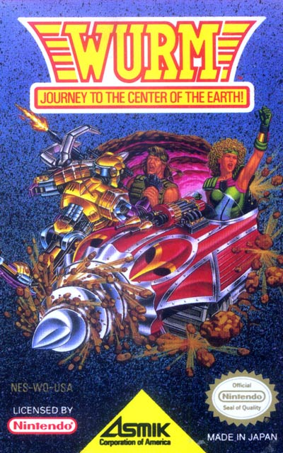 Wurm Journey to the Center of the Earth stats facts