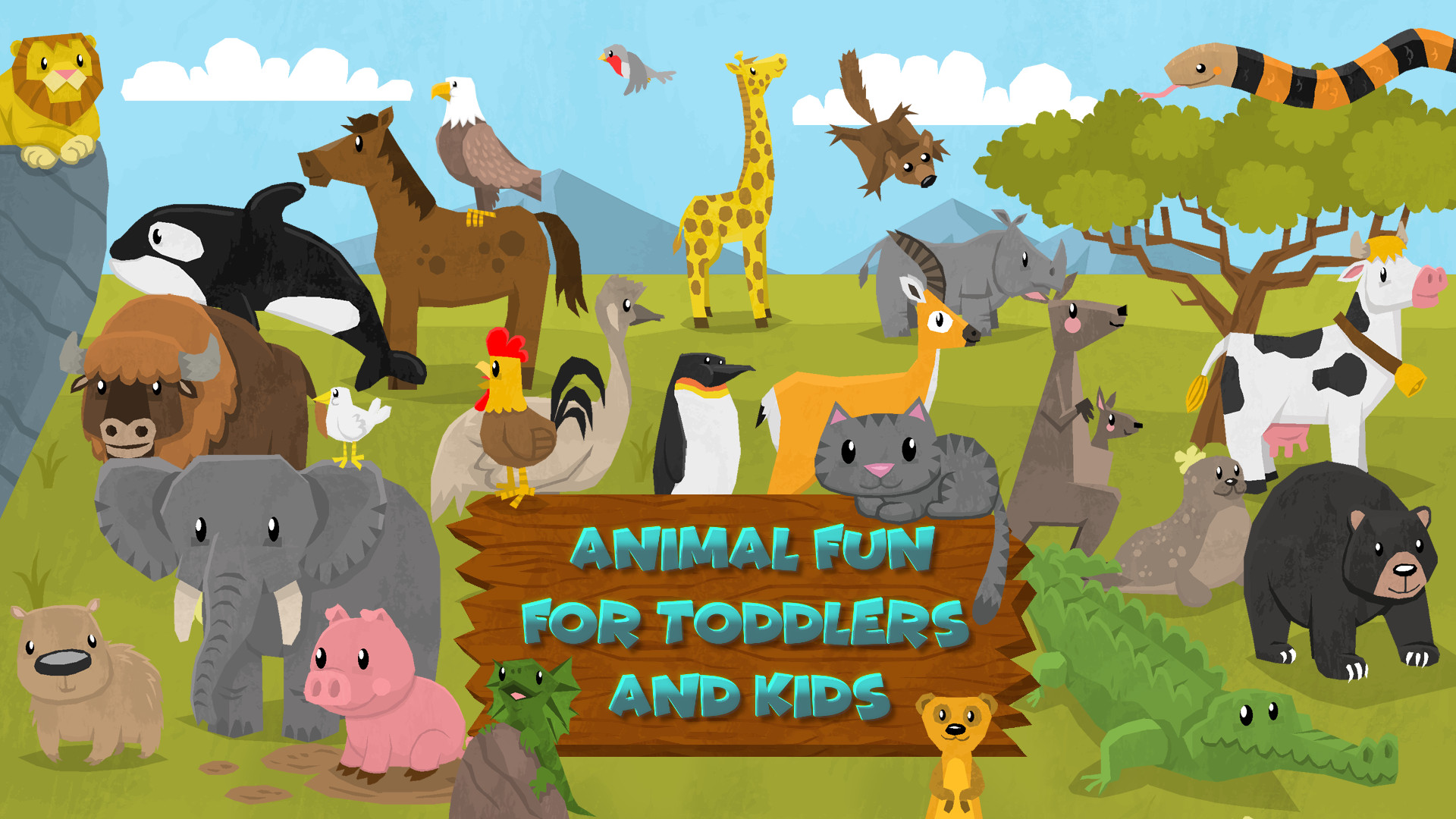 Animal Fun for Toddlers & Kids statistics player count facts