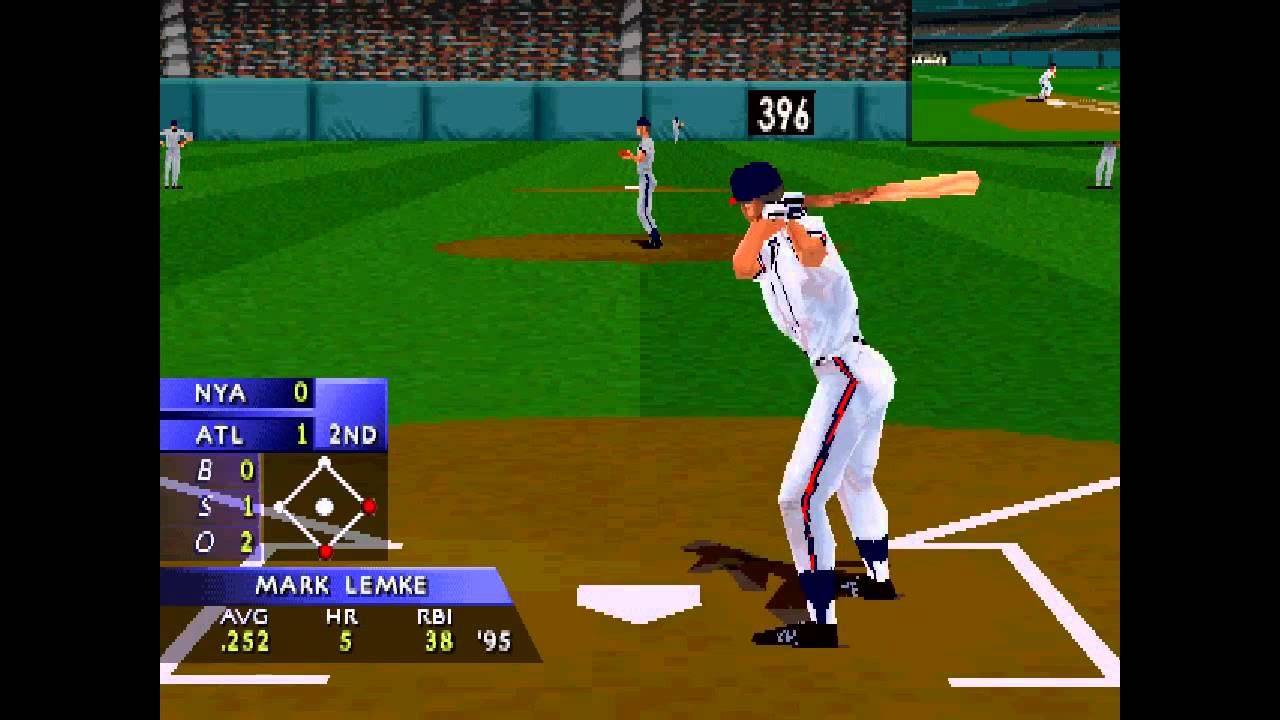 3D Baseball statistics player count facts