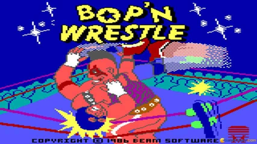 Bop'N Wrestle statistics player count facts