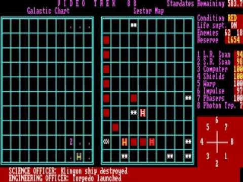 Video Trek 88 statistics player count facts